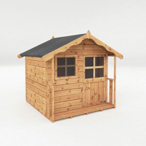Mercia Poppy Wooden Playhouse 5x5