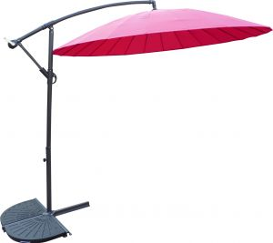 Royalcraft Pink Shanghai Cantilever Parasol 3m