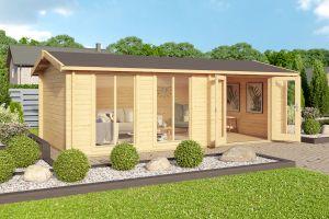 Shetland 44 Log Cabin 44mm 5.75m x 3m
