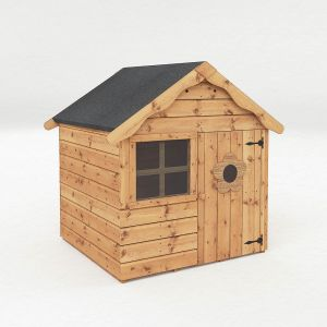 Mercia Snug Apex Wooden Playhouse 4x4