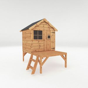 Mercia Snug Tower Wooden Playhouse 4x4