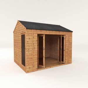 Mercia Vermont Summerhouse with Bi-Folding Doors 10x8