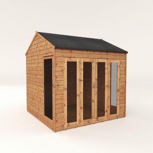 Mercia Vermont Summerhouse with Bi-Folding Doors 8x8