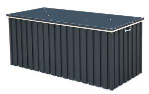 Sapphire 1.7 Anthracite Metal Storage Box Anthracite 6x2