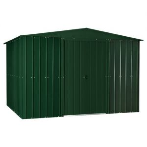 Lotus Apex Shed Heritage Green Solid 10x12