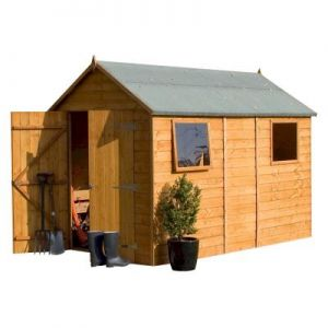 Rowlinson Premier Wooden 10x6 Shed