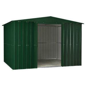 Lotus Apex Shed Heritage Green Solid 10x6
