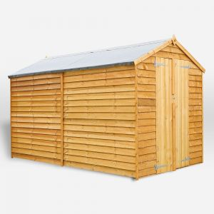 Mercia Overlap Apex Shed No Windows 10x6
