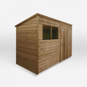 Mercia Pressure Treated Shiplap Pent Shed 10x6