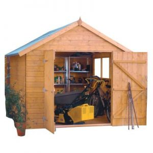 Rowlinson Premier Wooden 10x8 Shed