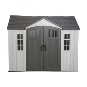 Lifetime Heavy Duty Plastic Shed 10x8 Single Entrance - New Edition
