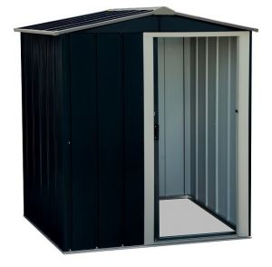 Sapphire Apex Metal Shed Anthracite 5x4