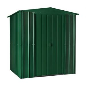 Lotus Apex Shed Heritage Green Solid 6x4