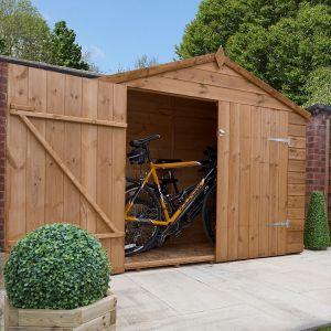 Mercia Pressure Treated Shiplap Apex Bike Store 7x3