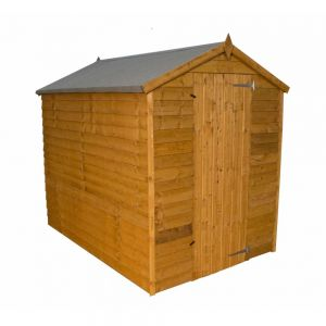 Mercia Overlap Apex Shed No Windows 5x7