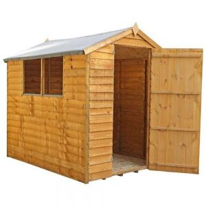 Mercia Overlap Apex Shed 5x7