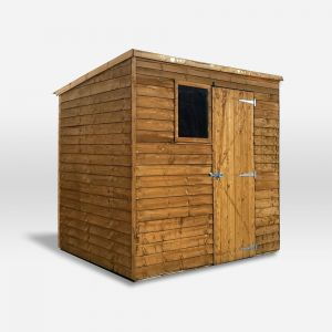 Mercia Overlap Pent Shed 7x5