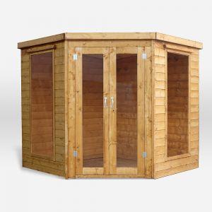 Mercia Premium Corner Summerhouse 7x7