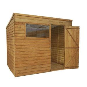Mercia Overlap Pent Shed 8x6