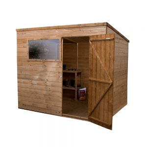 Mercia Pressure Treated Shiplap Pent Shed 8x6