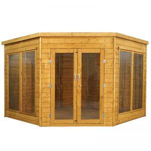 Mercia Premium Corner Summerhouse 9x9
