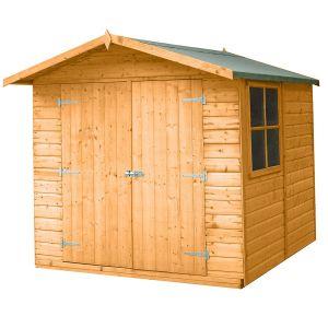Shire Alderney Apex Wooden Shed 7x7