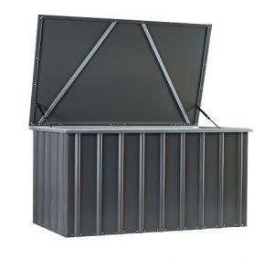 Lotus Cushion Storage Box Anthracite 5 x 3
