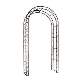 Rustic Arch Antique Rusty Iron