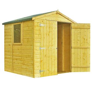Shire Arran Wooden Shed 6x6