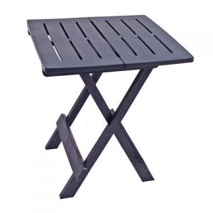 Bari Anthracite Side Table