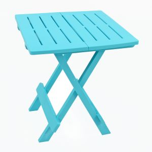 Bari Blue Side Table