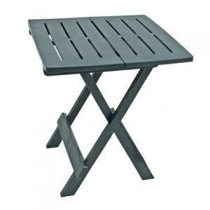 Bari Green Side Table