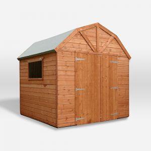 Mercia Premium Pressure Treated Shiplap T&G Dutch Barn Shed Workshop 8x8