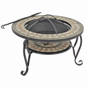 Brava Low Firepit Table