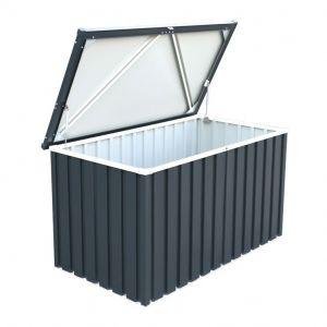 Sapphire 1.3 Anthracite Metal Storage Box Anthracite 4x2