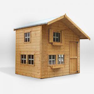 Bramble Cottage Double Storey Apex Playhouse 8x6