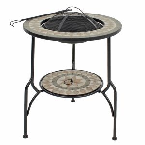 Brava Tall Firepit Table