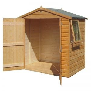 Shire Bute Shiplap Apex Wooden Shed 6x4