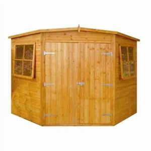 Shire Wooden Corner Shed 8x8