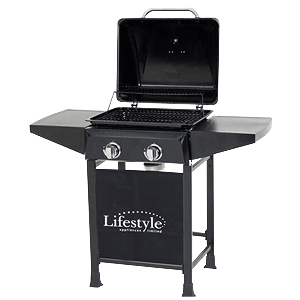 Cuba 2 Burner Hooded Gas Barbecue