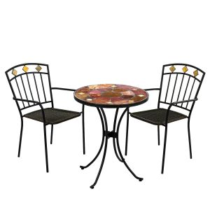 Ondara Bistro Table with 2 Malaga chairs