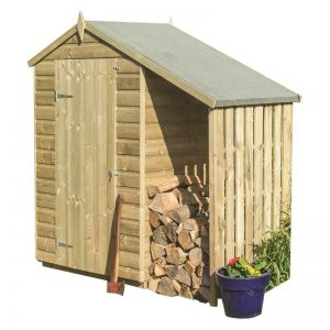 Rowlinson Oxford Shed with Lean-To 4x3