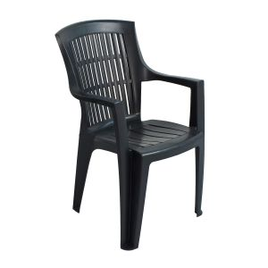 Parma Anthracite Stacking Chair (Pack of 4)