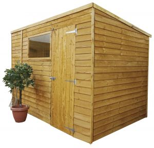 Mercia Overlap Pent Shed 10x6