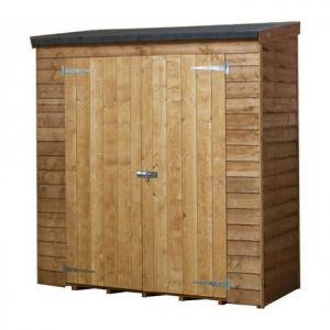 Mercia Pent Overlap Storage Shed 6ft x 2.6ft