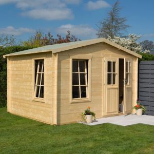 Garden Retreat Log Cabin 19mm 3.4m x 3m