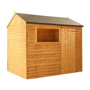 Mercia Overlap Reverse Apex Shed 8x6