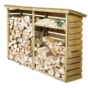 Rowlinson Large Log Store 7.5ft x 2ft