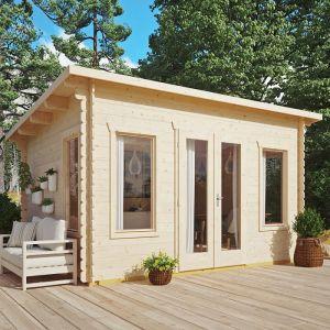 Sanctuary Log Cabin 28mm 4.4m x 3.4m