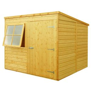 Shire Pent Wooden Shed 7x7